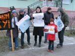 """Пикет активистов """"Виты"""" против натуральных мехов. 2.8Mb"""