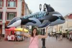 Первая в Нижнем Новгороде акция в защиту узников дельфинария