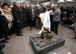 A Monument to Homeless Animals Is Established in Moscow