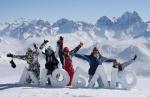 Первый                      Новогодний вегетарианский фестиваль в горном Псебае (350 км                      от Сочи)