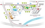 Карта-схема VEG-LIFE-EXPO 2016