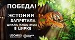 Самая большая победа в истории движения в защиту животных Эстонии: запрет эксплуатации диких животных в цирках!
