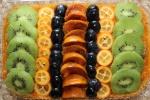 Сыроедный фруктовый торт с абрикосовым джемом