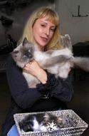 Илона Гонсовская и коты