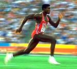 Льюис Карл - девятикратный чемпион 4-х Олимпийских игр.